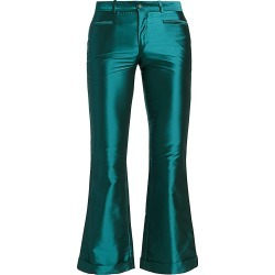 Each X Other Women's Iridescent Kick-Flare Trousers - Petrol - Size Small found on MODAPINS from Saks Fifth Avenue for USD $98.39