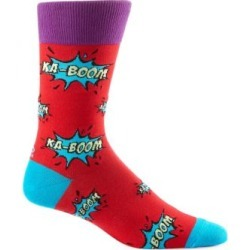 Ka-Boom Print Mid-Calf Crew Socks found on Bargain Bro Philippines from The Bay for $9.00