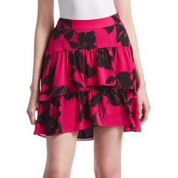 Baxter Silk Mini Skirt found on Bargain Bro India from Saks Fifth Avenue OFF 5TH for $137.99