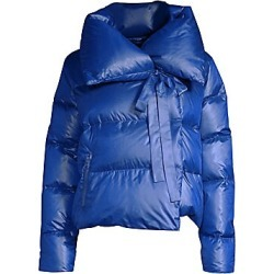Bacon Women's Puffa Cropped Jacket - Blue - Size Small found on MODAPINS from LinkShare USA for USD $369.00