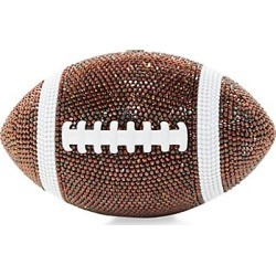 Judith Leiber Couture Women's Football Pigskin Crystal Clutch - Brown found on MODAPINS from Saks Fifth Avenue for USD $3995.00