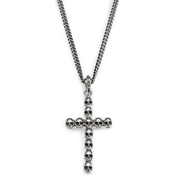 Multi-Skull Cross Pendant Necklace found on Bargain Bro India from Saks Fifth Avenue OFF 5TH for $342.00