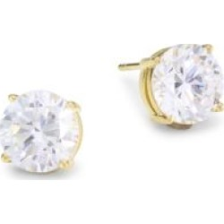 18K Goldplated Sterling Silver & Round Cubic Zirconia Stud Earrings found on Bargain Bro India from Saks Fifth Avenue AU for $79.46