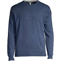Peter Millar Women's Crown Wool Silk Crewneck Sweater - Blue Moon - Size XL found on Bargain Bro Philippines from Saks Fifth Avenue for $160.00