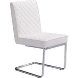 Quilt Armless Dining Chair Set of 2