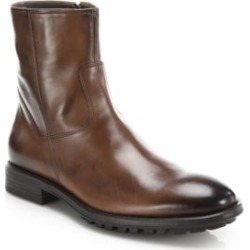 Harrison Leather Side-Zip Boots found on MODAPINS from Saks Fifth Avenue Canada for USD $197.21