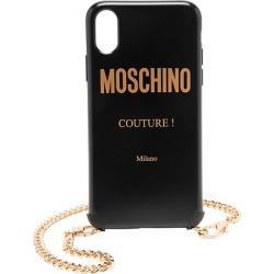 Moschino Women's iPhone XS Case - Black Multi