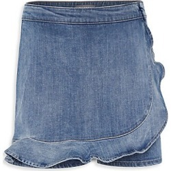 DL1961 Premium Denim Little Girl's & Girl's Lola Denim Skort - Mimosa - Size 7