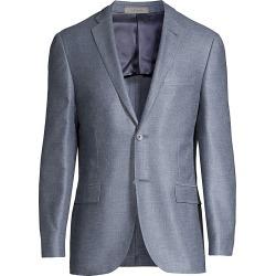 Corneliani Men's Gate Wool Sportcoat - Blue - Size 50 (40) R found on MODAPINS from Saks Fifth Avenue for USD $875.00