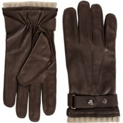 Belted Snap-Button Leather Gloves found on Bargain Bro Philippines from The Bay for $99.99