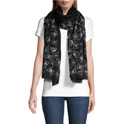 Janavi Women's Glitter Butterflies Cashmere Scarf - Black found on MODAPINS from Saks Fifth Avenue for USD $625.00