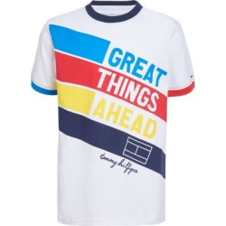T-shirt en coton avec imprimé Great Things Ahead pour garçon found on Bargain Bro Philippines from La Baie for $29.50