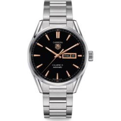 Carrera 41MM Stainless Steel Day-Date Automatic Bracelet Watch found on Bargain Bro Philippines from Saks Fifth Avenue Canada for $3134.46
