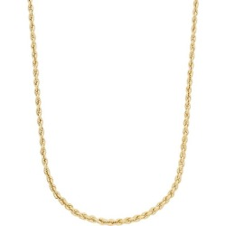 14K Gold Rope Chain Necklace/4.9MM found on Bargain Bro India from Saks Fifth Avenue OFF 5TH for $1140.00