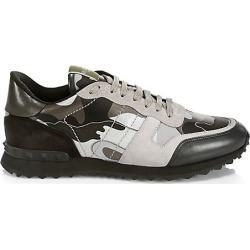 Valentino Men's Valentino Garavani Rockrunner Camouflage Sneakers - Black - Size 46 (13) found on Bargain Bro India from Saks Fifth Avenue for $875.00