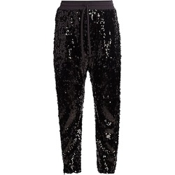 R13 Women's Sequin Sweatpants - Black - Size Medium found on Bargain Bro Philippines from Saks Fifth Avenue for $450.00
