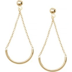 Boucles d'oreilles en or jaune 14 K found on Bargain Bro India from La Baie for $700.00