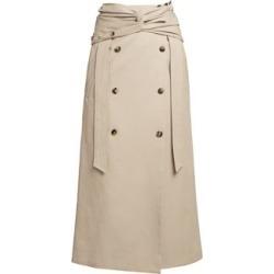 Twist Wrap Midi Skirt found on Bargain Bro India from Saks Fifth Avenue AU for $544.30