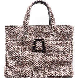 Kooreloo Women's Book Woven Tweed Tote - Brown found on MODAPINS from Saks Fifth Avenue for USD $495.00