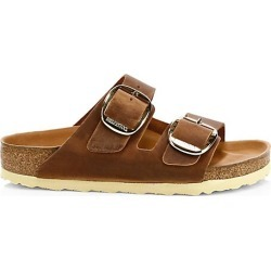 Birkenstock Women's Arizona Big Buckle Leather Sandals - Antique Brown - Size 39 (8) found on MODAPINS from Saks Fifth Avenue for USD $150.00