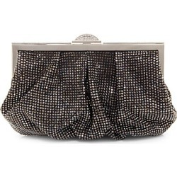 Judith Leiber Couture Women's Natalie Crystal Frame Clutch - Dark Silver found on MODAPINS from Saks Fifth Avenue for USD $2995.00
