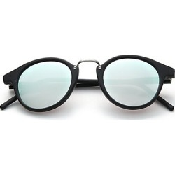Kyme Men's Frank 46mm Round Pantos Mirror Sunglasses - Black Silver found on MODAPINS from Saks Fifth Avenue for USD $305.00