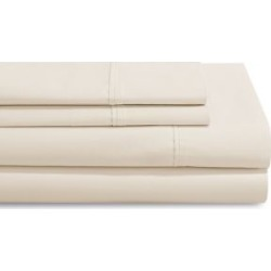 Smart Buy 500-Thread Count Four-Piece Pima Cotton Sheet Set