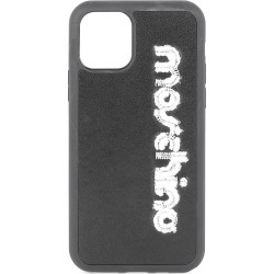 Moschino Women's Embroidered Logo iPhone 11 Pro Max Phone Case - Black found on Bargain Bro India from Saks Fifth Avenue for $95.00