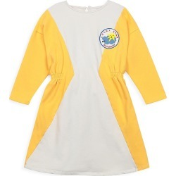 Bobo Choses Little Girl's & Girl's Two-Toned Geometric Fleece Dress - Yellow - Size 10-11 found on Bargain Bro India from Saks Fifth Avenue for $83.00