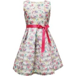 Robe fleurie et rayée pour fille found on Bargain Bro Philippines from La Baie for $27.50