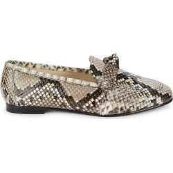 Alexandre Birman Women's Becky Python Leather Loafers - Natural - Size 37 (7) found on MODAPINS from Saks Fifth Avenue OFF 5TH for USD $399.99