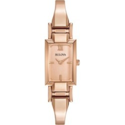 Analog Classic Rose Goldtone Stainless Steel Watch found on MODAPINS from The Bay for USD $205.99