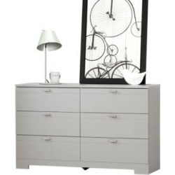 Commode double à six tiroirs Reevo found on Bargain Bro India from La Baie for $369.99
