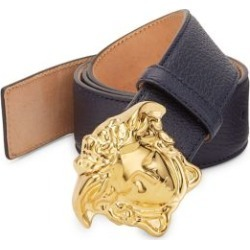 Medusa Buckle Leather Belt found on Bargain Bro Philippines from Saks Fifth Avenue Canada for $547.34