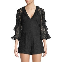 Alexis Women's Geneva Lace Romper - Black - Size Small found on MODAPINS from Saks Fifth Avenue for USD $248.99