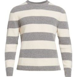 Shaggy Colorblock Striped Sweater found on Bargain Bro UK from Saks Fifth Avenue UK