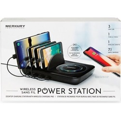 Wireless Power Station