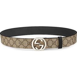 Gucci Women's Interlocking G Logo Belt - Beige - Size 90 (36) found on MODAPINS from Saks Fifth Avenue for USD $430.00