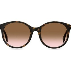 Fendi Women's 56MM Round Sunglasses - Tortoise found on MODAPINS from Saks Fifth Avenue for USD $325.00