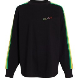 Palm Angels Women's Miami Logo Long Sleeve T-Shirt - Black Multicolor - Size XXS found on MODAPINS from Saks Fifth Avenue for USD $360.00