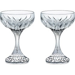 Baccarat Massena 2-Piece Coupe Glass Set found on Bargain Bro from Saks Fifth Avenue for USD $296.40