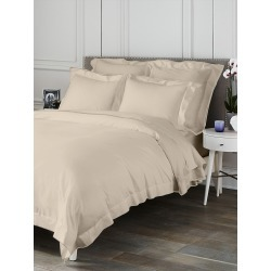 Saks Fifth Avenue Butterfly Flange Duvet - Linen - Size Full found on Bargain Bro from Saks Fifth Avenue for USD $169.10