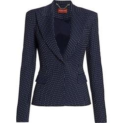 Altuzarra Kaiyo Wool Jacket - Berry Blue - Size 44 (12) found on MODAPINS from Saks Fifth Avenue for USD $1995.00