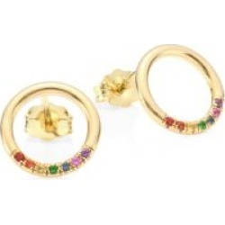 14K Yellow Gold Gemstone Stud Earrings found on Bargain Bro India from Saks Fifth Avenue Canada for $518.38