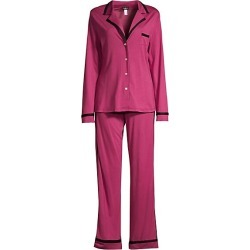 Contrast-Trim Pajamas found on MODAPINS from Saks Fifth Avenue for USD $130.00