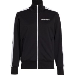 Palm Angels Women's Classic Track Jacket - Black White - Size XS found on MODAPINS from Saks Fifth Avenue for USD $470.00