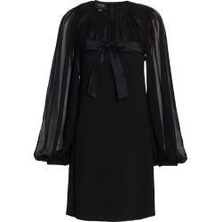 Giambattista Valli Women's Bow Front Sheer-Sleeve Mini Dress - Black - Size 40 (4) found on MODAPINS from Saks Fifth Avenue for USD $3990.00