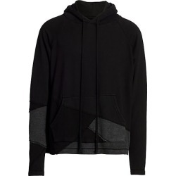 Greg Lauren Men's Fragmented Hoodie - Black - Size 1 (Small) found on MODAPINS from Saks Fifth Avenue for USD $775.00