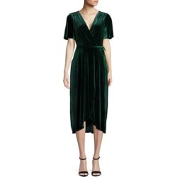 Short-Sleeve Velvet Wrap Dress found on Bargain Bro Philippines from Lord & Taylor for $72.52