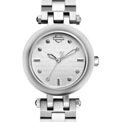 The Scoop Case Stainless Steel Analog Watch